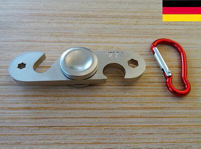 6 cm lange Laufzeit Tasche Fidget Spinner rund Ufo Scheibe Bayern Bavaria abmw