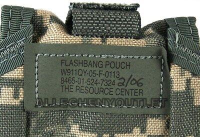 Qty 8 Usgi Military Army Molle Ii Flashbang Grenade Pouch Acu