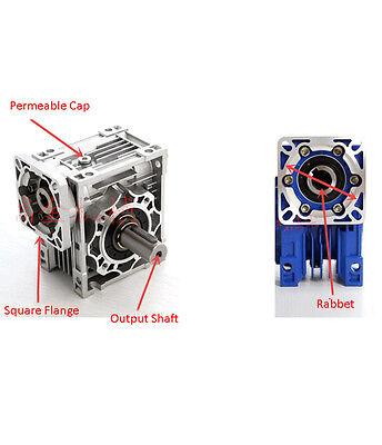 NEMA23 Worm Gearbox NMRV030 Geared Speed Reducer for CNC 57 Stepper Motor 2