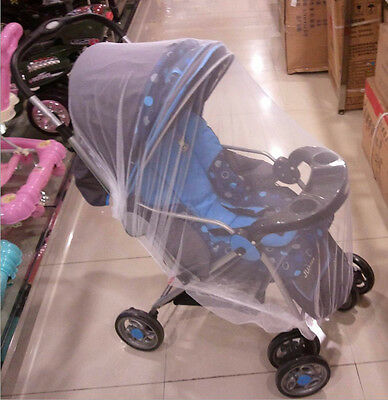 Universal Pram Mosquito Net Buggy Stroller Pushchair Bug Insect Car Seat Me-SL 3
