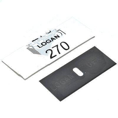 Logan 270 Cutter Blades Pack Of 20 - 2000 424 301-1 450 Mount Cutter Frames 3