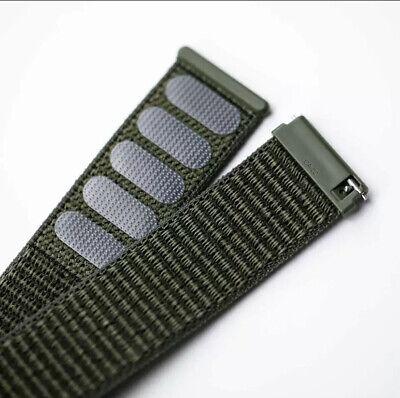 ✅ Für AMAZFIT Smartwatch Bip Lite GTS / GTR Armband 20mm 22mm Nylon Loop ✅ 5
