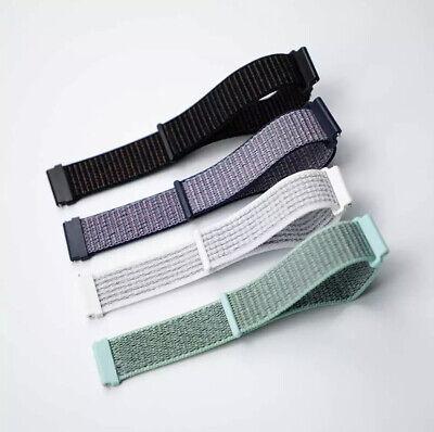 ✅ Für AMAZFIT Smartwatch Bip Lite GTS / GTR Armband 20mm 22mm Nylon Loop ✅ 4
