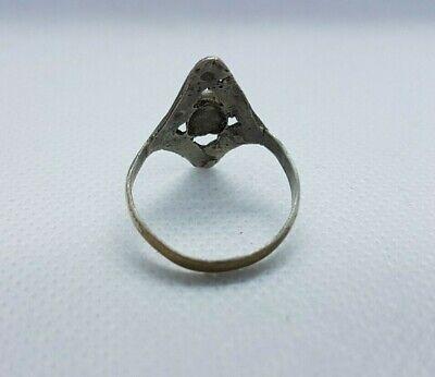 ancient antique roman legionary old ring metal artifact authentic rare type 4