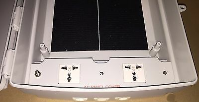 Outdoor Nema4 Weaterproof Enclosure Cabinet Box w/ 240 VAC Power Panel Universal