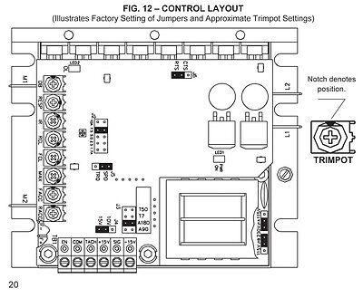 KB Electronics KBMG-212D DC motor control 8831 upc 024822088312 8