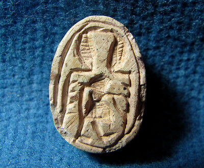 Hyksos 1630 - 1522 BC Scarab seal JUDAEA Middle bronze Canaanite Archaeology. 3