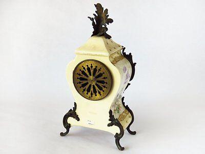 Rare Late Nineteenth Century Charles Jacques Porcelain Cherub Clock ~Exquisite~ 2