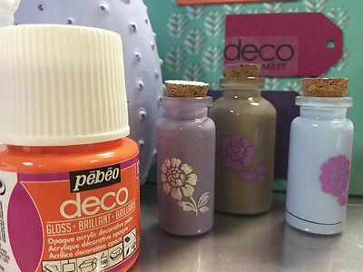 Pebeo Deco Gloss Multi Surface Craft Diy Acrylic Paint