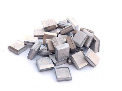 Nickel Squares 99.9% Pure (2 Pounds) Raw Nickel Metal 2