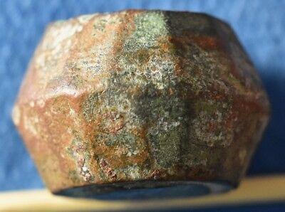 Islamc supposedly Mamluks, Bronze 10 Dirham Monetary Weight, Medieval commercial 5