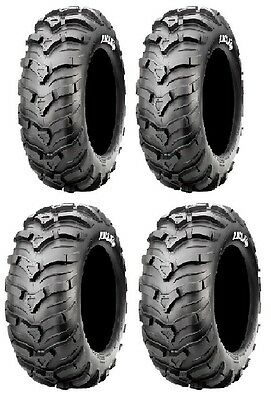 "2002-2015 YAMAHA GRIZZLY 450 660 700 25/"" CST MAXXIS ANCLA ATV TIRE SET OF FOUR"