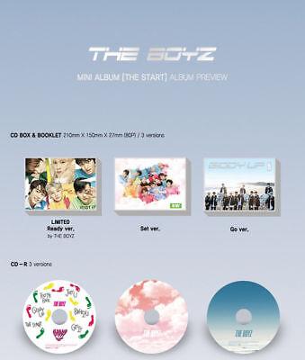 THE BOYZ [THE START] 2nd Mini Album RANDOM CD+Photo Book+3p Card+Sticker SEALED