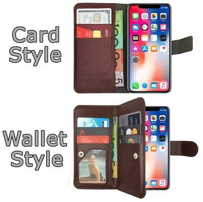 Leather Flip Case Wallet Cover Stand For Apple iPhone 7 6S 6 Plus 5S 5C 5 4 SE 8 6