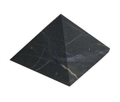Shungite UNpolished pyramid 30x30 mm Original Healing Stone from Karelia Russia 3