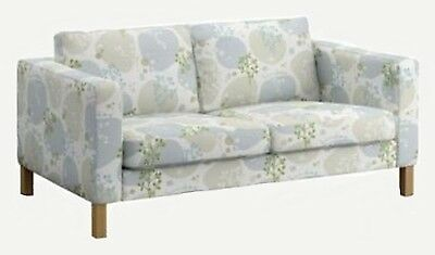 Peachy Ikea Karlstad Sofa 3 Seat Slipcover Gronvik Multi Color Gray Gmtry Best Dining Table And Chair Ideas Images Gmtryco