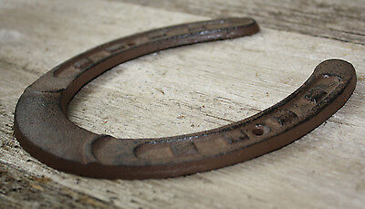 Cast Iron Lucky Horseshoe Rustic Ranch Western  Home Decor 5 1/2 x 6.5 in TEXAS 5