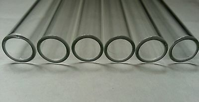 "4"" Long 20 Tubes Glass Pyrex Tubing 10 mm OD 8mm ID 1mm Wall 2"