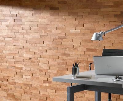 Holzwand 3d Holz Wandverkleidung Kirsche Wodewa Holzpaneele
