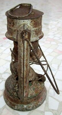 """Antique Made In Germany Feuerhand """"superbaby"""" Rail Road Lantern, Excellent 6"""