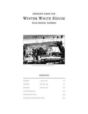 Rose Kennedy Steamer Trunk White Winter House Auction Palm Beach Leslie Hindman 10