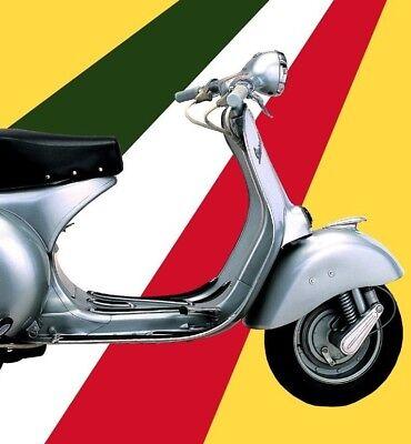Vespa 1955 Classic Italian Motor Scooter Vintage Poster Art Print Retro Art