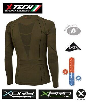 Maglia XTECH Tecnica X-TECH SPYDER Made in Italy TRASPIRANTE Outdoor Shirt BK