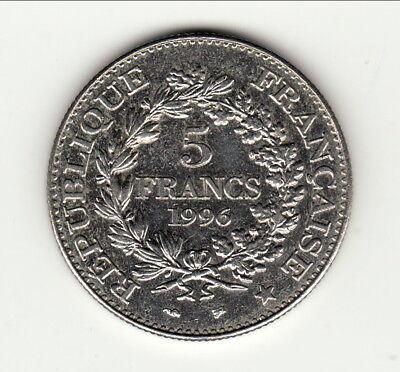 5 francs hercule 1996 a saisir petit prix ! état SUP /SPL § dure a trouvé § 2