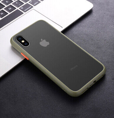 Matte Translucent Case For iPhone 11 Pro Max XS Max XR 7 8 6 Plus Silicone Cover 7
