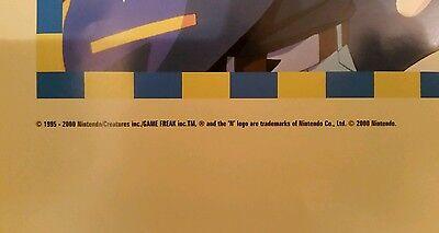 "Rare /""Gotta Catch /'em all/"" Original 1st 150 Pokemon Poster Printed Year 2000"