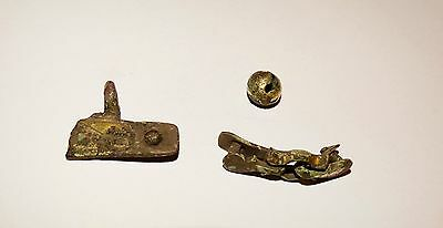 Perfect Set of Golden plated artifacts .  Hunnu,Alans. ca 3-5AD. 5