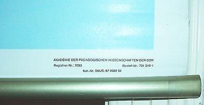 DDR Schulkarte Wandkarte Rollkarte Organe vom Flußbarsch um 1970 Fisch ! 3