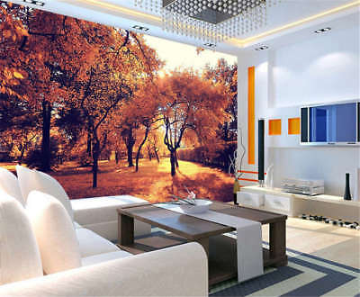 Coherent Tall Trees 3D Full Wall Mural Photo Wallpaper Printing Home Kids Decor