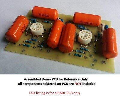 DIY Bare PCB Dynaco Dynakit PAS3 Tube PreAmp PC-5A Line Stage