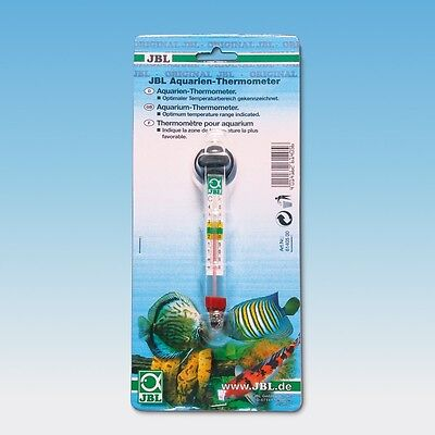 JBL Aquarien-Thermometer Präzises Glas-Thermometer inklusive Sauger 2