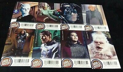 Dave and Buster's Aliens Star Trek Non Foil Arcade Card Set Lot - Mugato 2