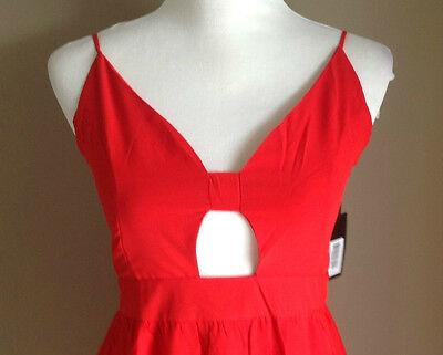 Bulk Lot x 7 NEW Dresses Red Chiffon Lace Up Back Sizes 6 - 12 Styla Label 3