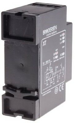 Brodersen Systems XT-D1.H Multi Function Timer Relay, Screw, SPDT 1 Contacts-New 3