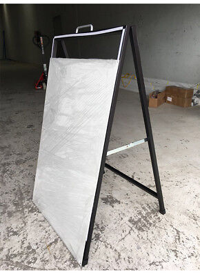 A Frame Sign/A Board /Metal Sandwich board Double Sided Road side sign AS6090 3
