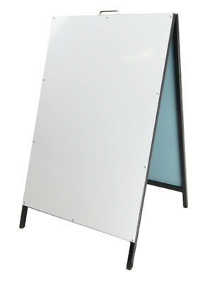 A Frame Sign/A Board /Metal Sandwich board Double Sided Road side sign AS6090 2