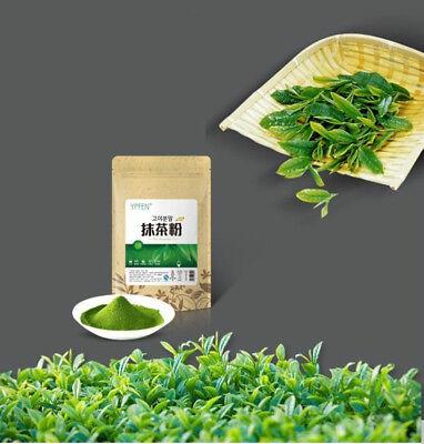 100g  Japonais Thé Vert Poudre de Matcha Thé Minceur Biologique 100% Naturel 抹茶粉 10
