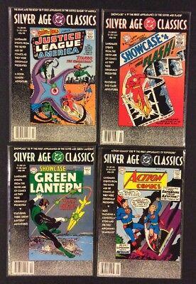 DC SILVER AGE Comics #1 1st Appearances FLASH Green Lantern JLA 15 SUPERHER0ES