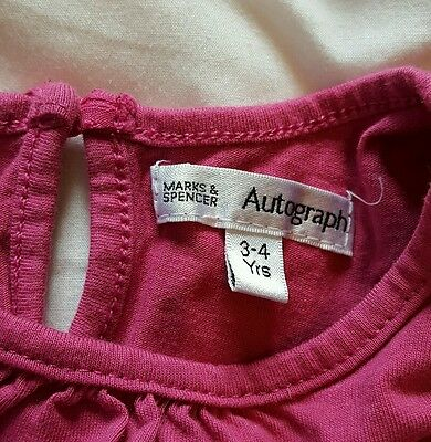 Girls 2 piece top marks and Spencer 3-4 years 5