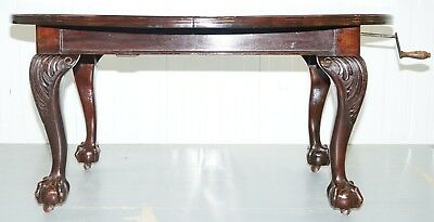 Stunning Victorian James Phillips & Son's Solid Mahogany Extending Dining Table 4