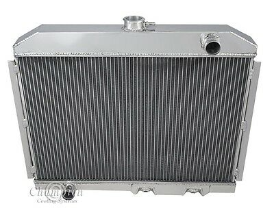"1970-73 DATSUN 240Z 3 Row DR Aluminum Champion Radiator 2 x 12/"" Fan Combo"