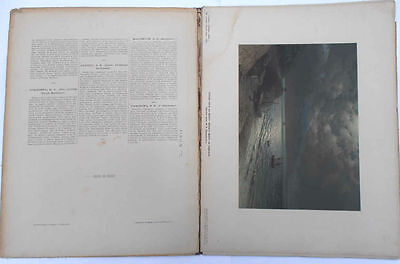 1892 Imperial Russia NIVA ALBUM with 9 Painting Reproductions RARE 3