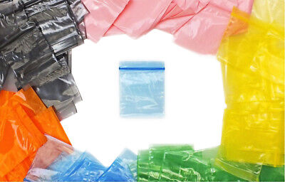 Small Resealable Plastic Polythene Grip Seal Bags - Clear Bags Zip Lock Baggy 2