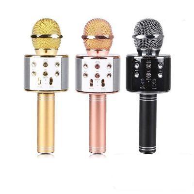 Wster Ws-858 Microfono Wireless Con Bluetooth Altoparlante Cassa Integrata 2
