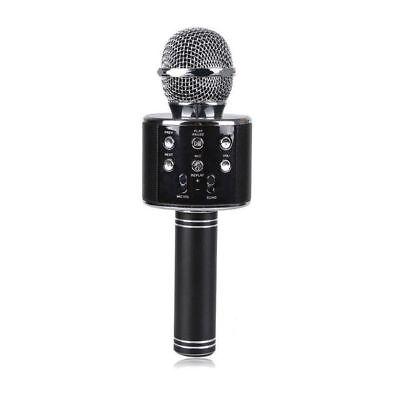 Microfono Altoparlante Bluetooth Wireless Con Speaker Karaoke Novita 2