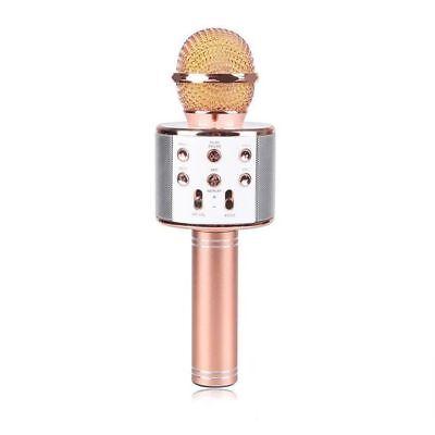 Microfono Altoparlante Bluetooth Wireless Con Speaker Karaoke Novita 3